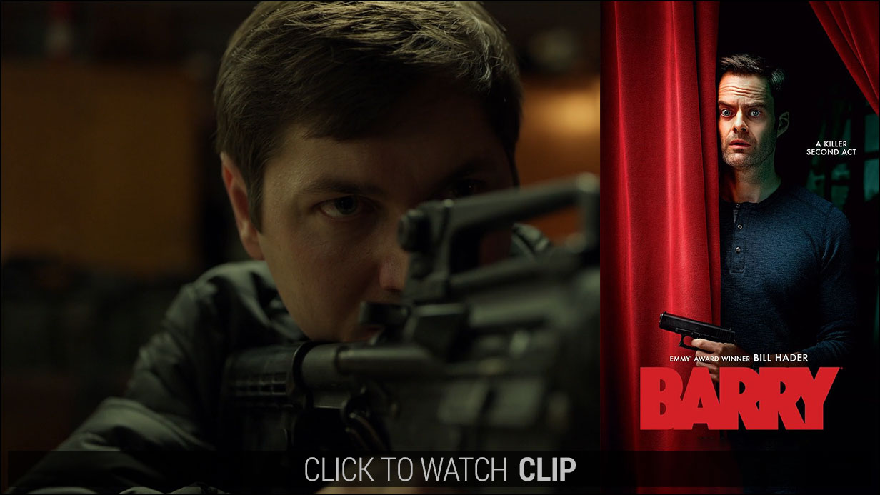 Clip of Nikita in HBO's BARRY